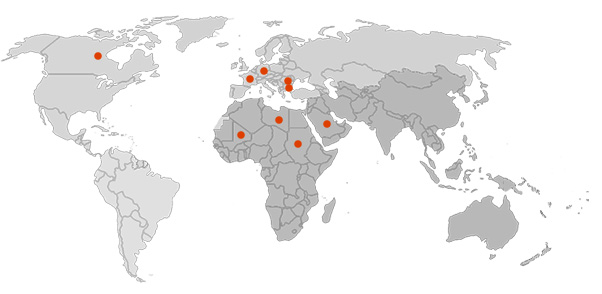 Нашите клиенти по света